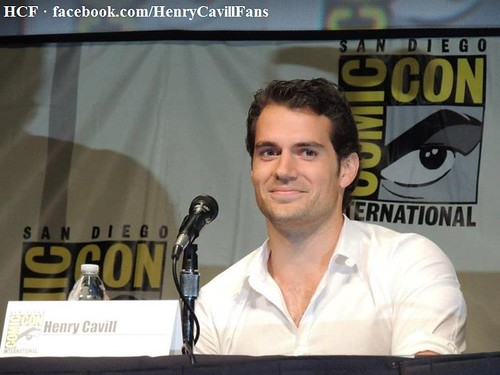 Henry Cavill at the Man of Steel Panel, Comic-Con (2012) -05 | by Henry Cavill Fanpage