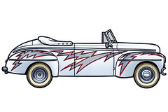 1948 Ford Deluxe Convertable