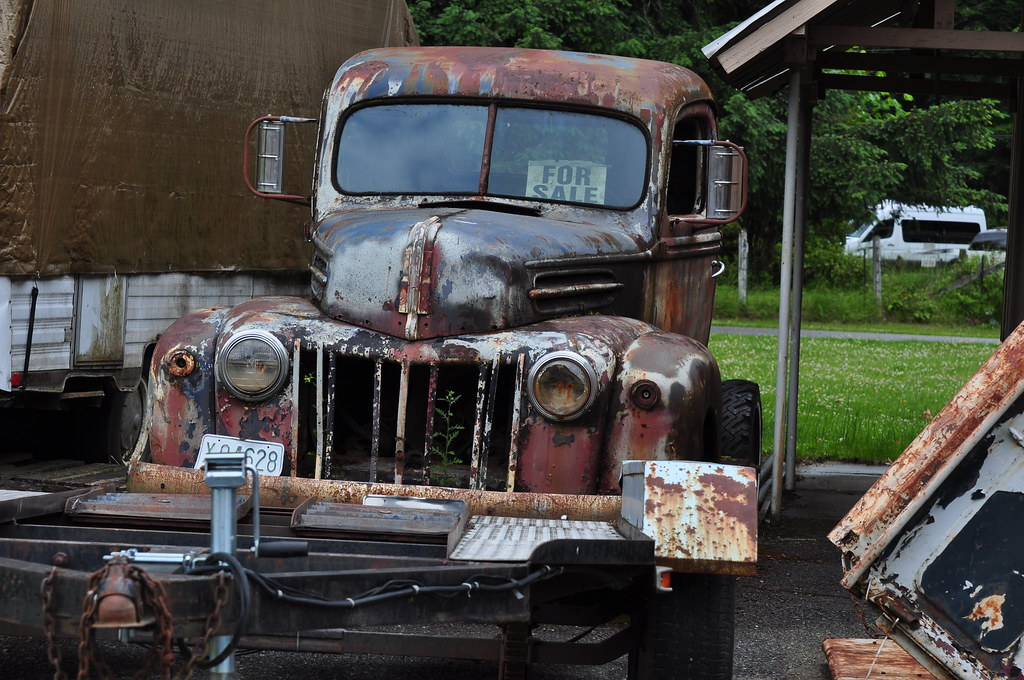 An old truck for sale | A great old truck for sale in Packwo… | Flickr