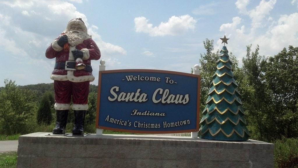 Santa Claus Indiana By Tengrrl
