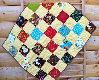 Wee Woodland Baby Quilt | by CoraQuilts~Carla