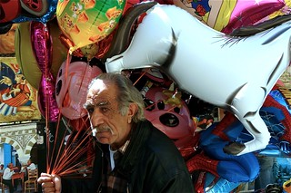 selling balloons in Athens | by Jan Gerrit DEELEN
