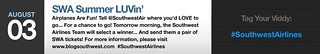 SWA Summer LUVin' | by Southwest Airlines