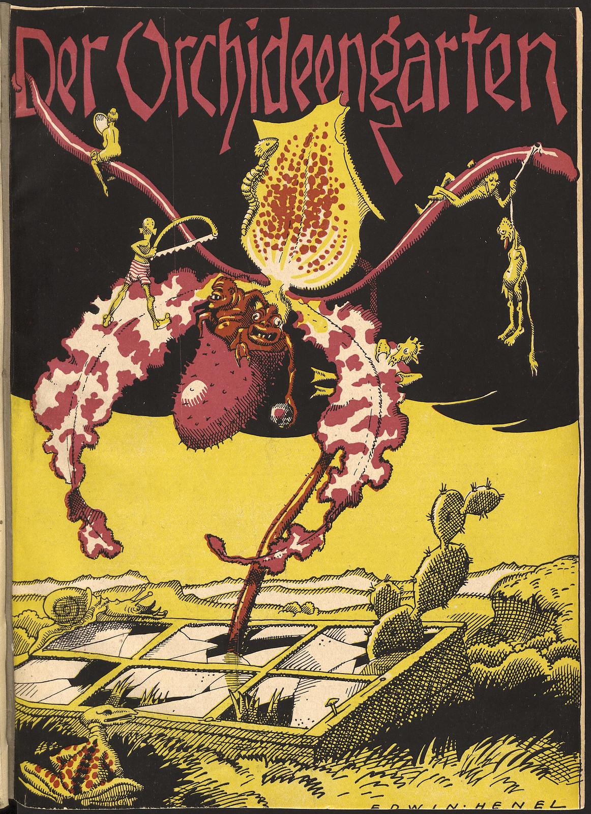 Der Orchideengarten - 1919 (Cover 1)