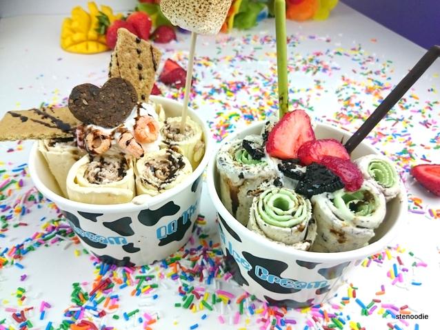QQ Thai Ice Cream Rolls