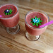 Smoothies with decorations
