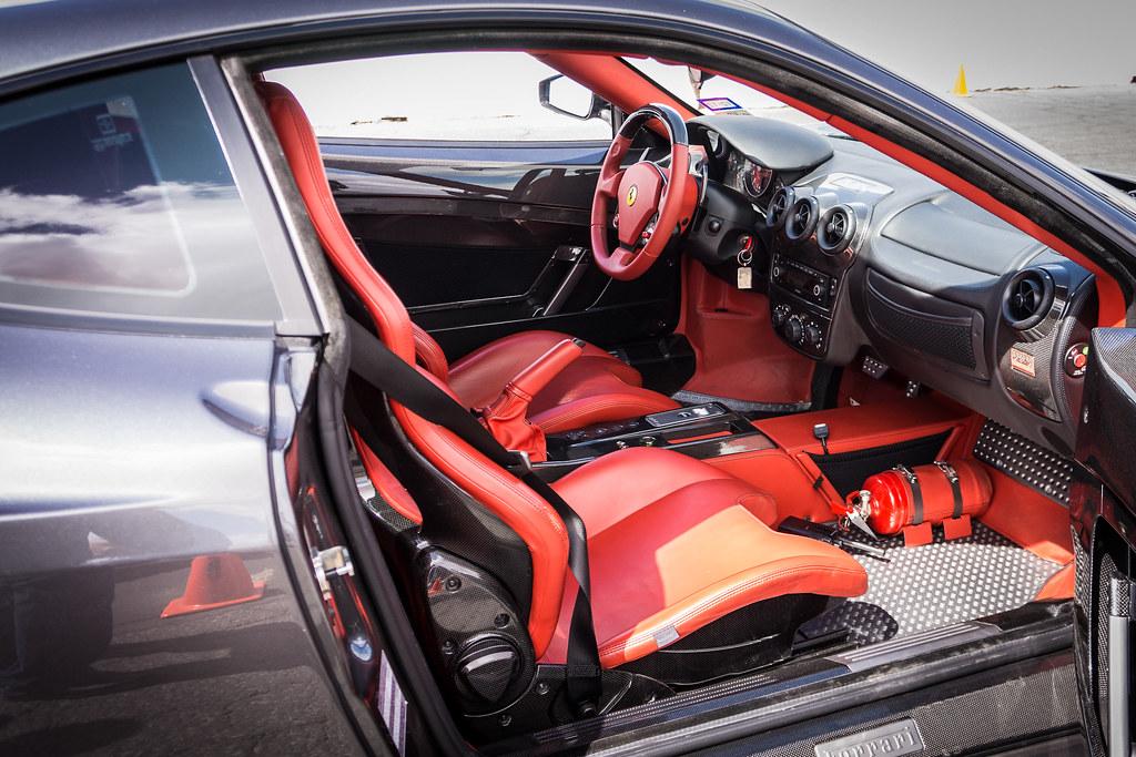 Ferrari F430 Scuderia Interior Benjamin Chew Flickr