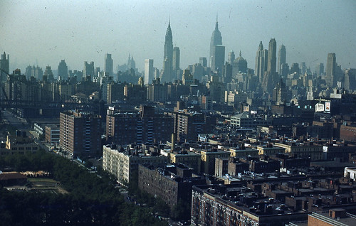 1953 New York Skyline from E 68th | by David Gallagher