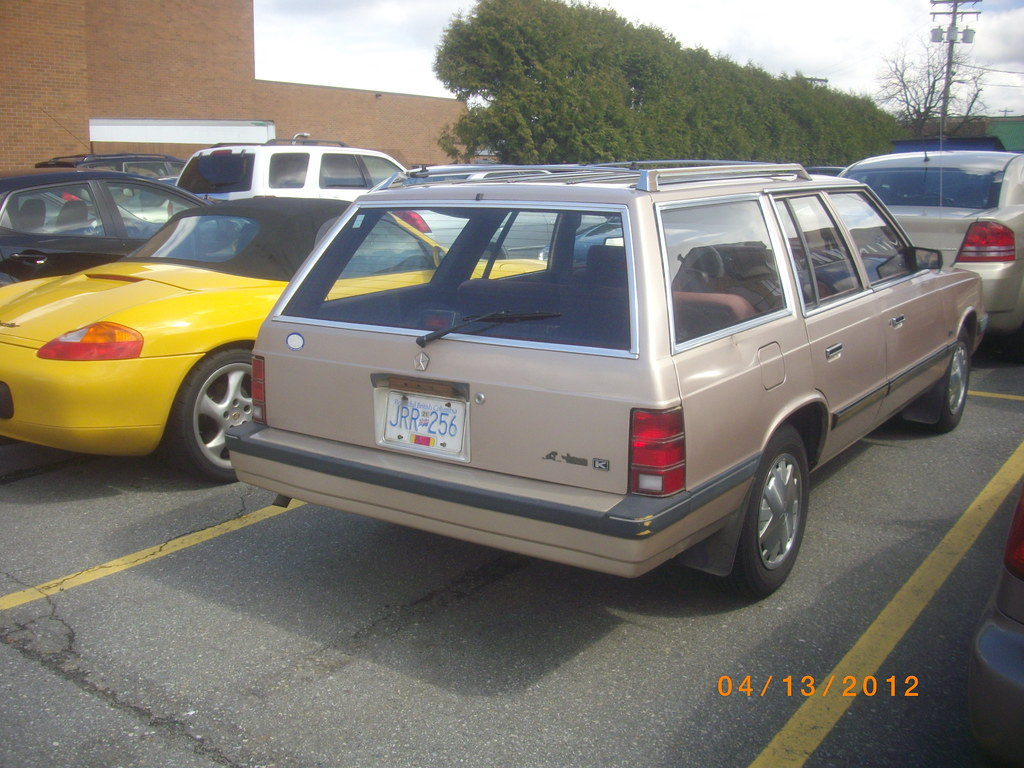 86 88 Dodge Aries K Wagon Besides The Missing Aries Lo Flickr