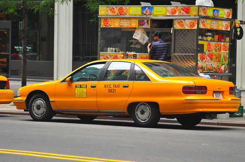 Chevrolet Caprice Nyc Taxi Picture Car From The Secret