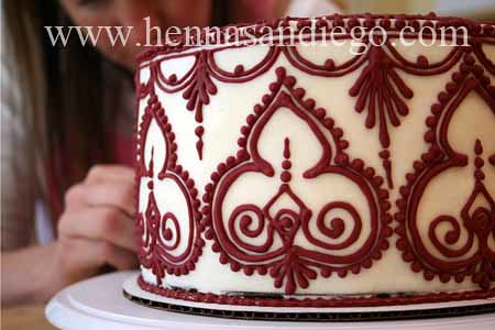 Wedding Henna Cake 9 Baker Stacy Mcbride Arciaga And Ca Flickr