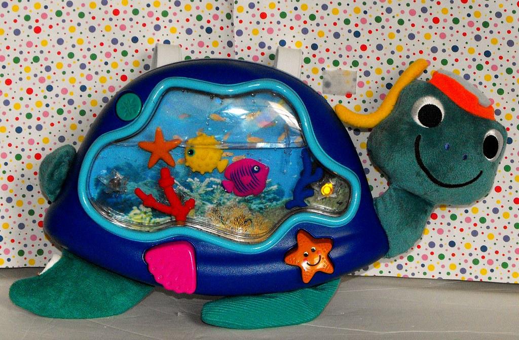 Peacock Baby Einstein Crib Toy : Baby einstein neptune turtle crib soother new