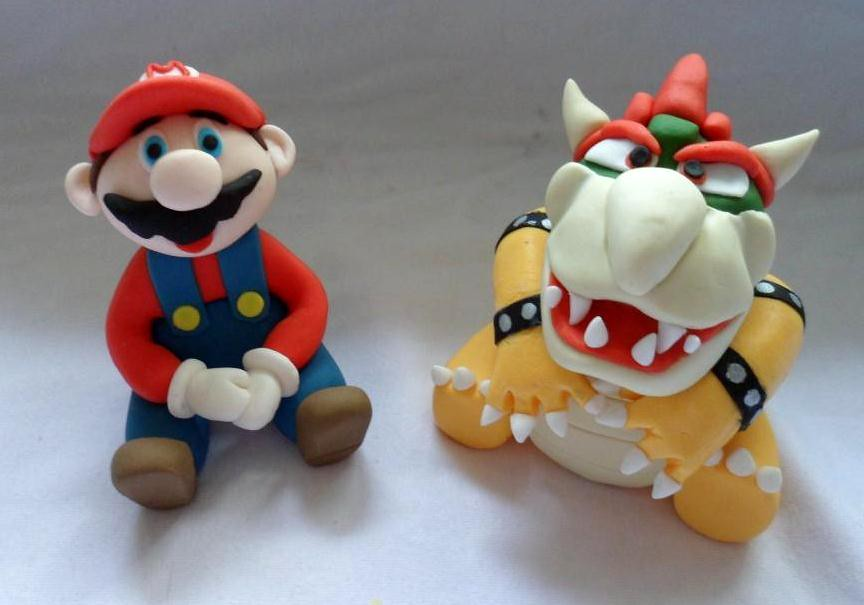 Super Mario Cake Topper Uk