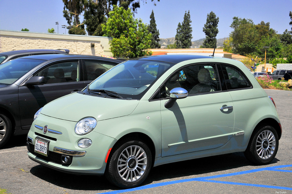 2012 fiat 500 lounge verde chiaro fvl can you believe flickr. Black Bedroom Furniture Sets. Home Design Ideas