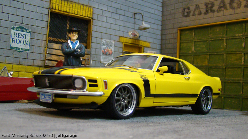 Caroll Shelby Tribute Ford Mustang Boss 302 70