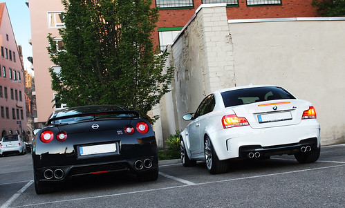 Black V6 vs. White Straight 6 | by Frankenspotter Photography