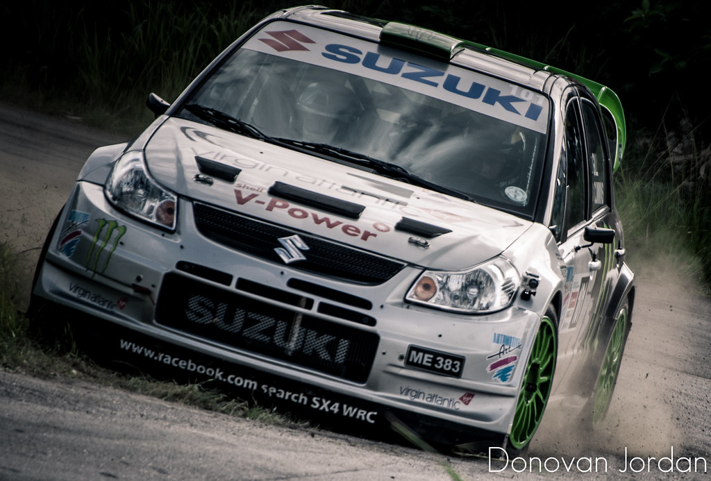 Monster Energy Suzuki SX-4 WRC | Sol Barbados Rally King of … | Flickr