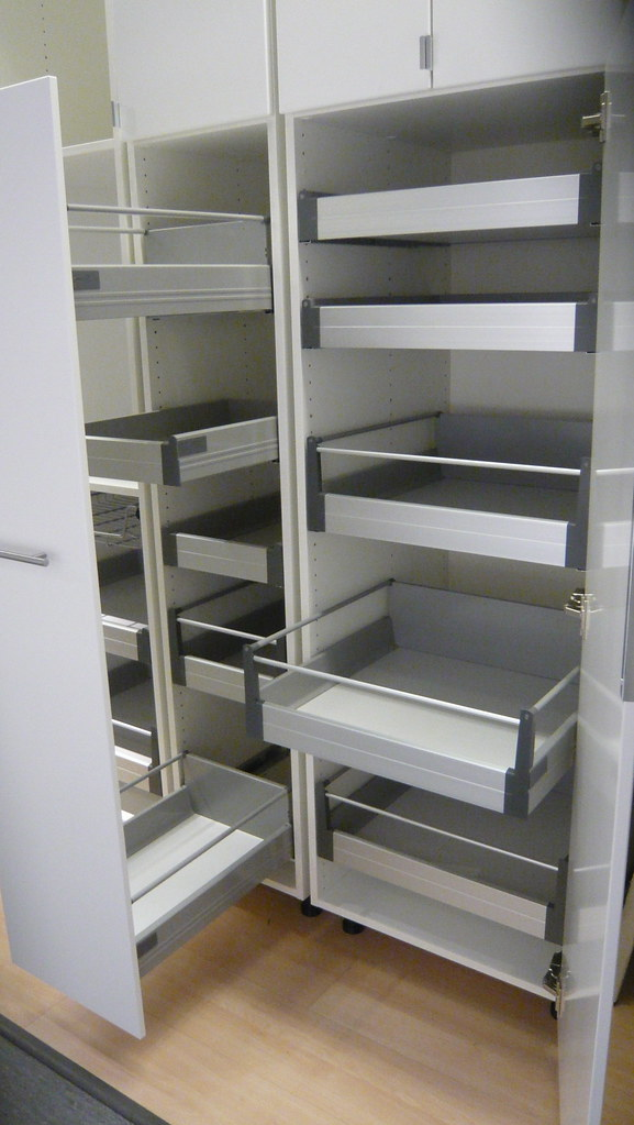 Pull Out And Interior Drawers Pantry Options The Pantry On Flickr