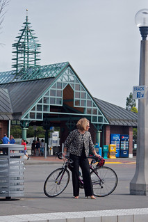BTA photoshoot at the Beaverton Transit Center with Pam Treece | by W.D. Vanlue