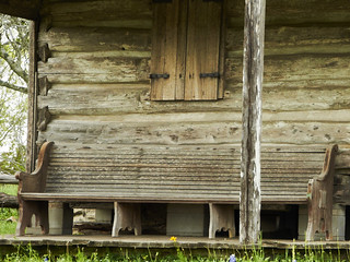 Pew on a Porch | by R Childress