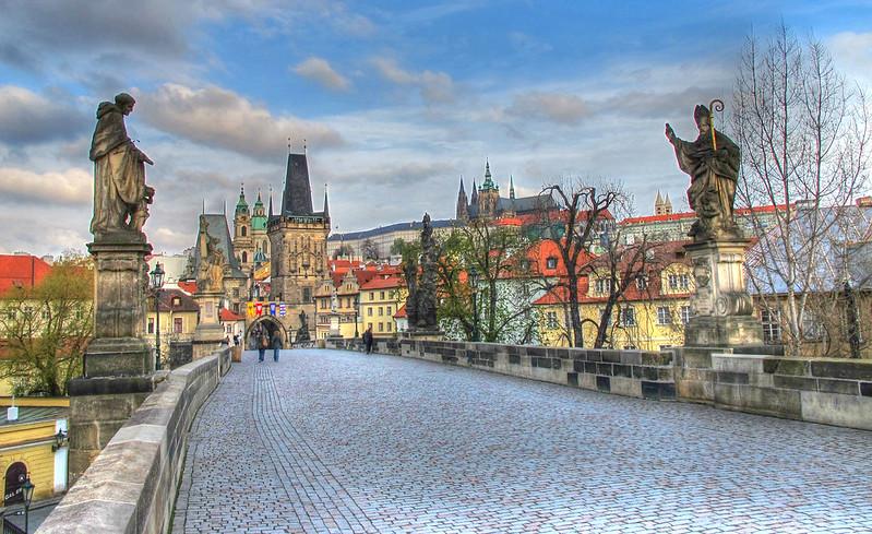 El Puente de Carlos - Praga - República Checa - (Abril 2012)