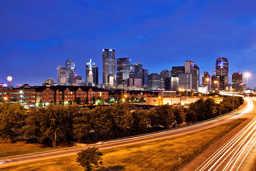 Dallas Skyline | by Justin Terveen