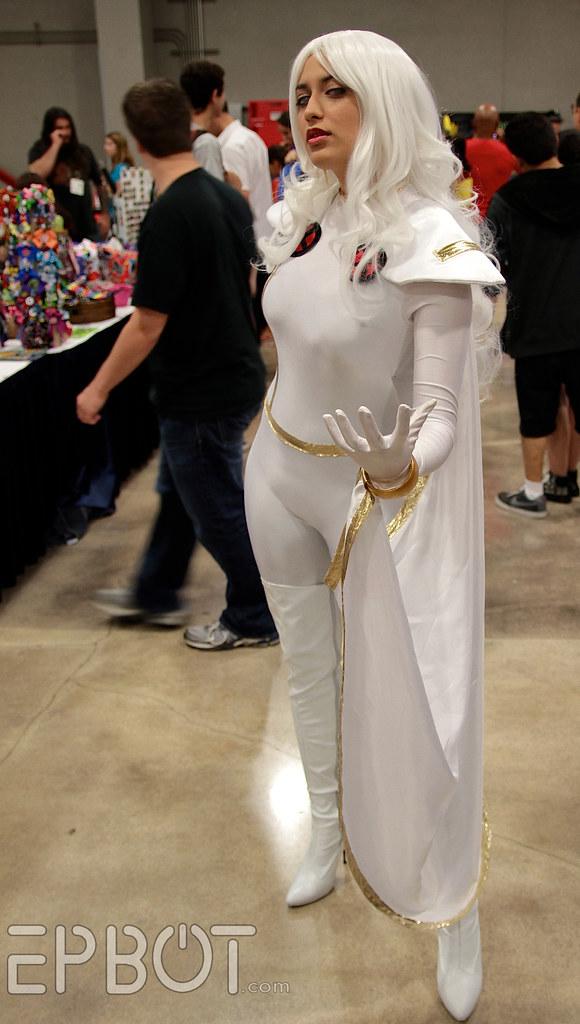 men Storm cosplay x