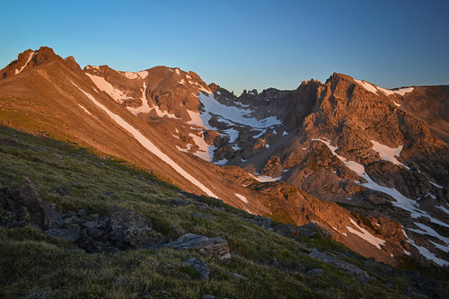 Sunrise on the Great Divide | by Bill Bowman