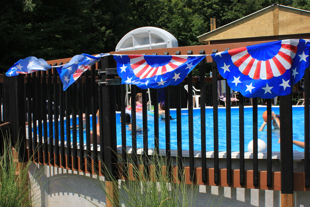 July 4th pool party luann snawder photography flickr for Decoracion estados unidos