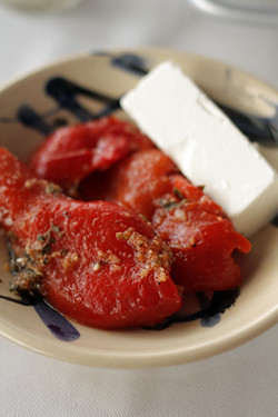 peppers and feta | by David Lebovitz