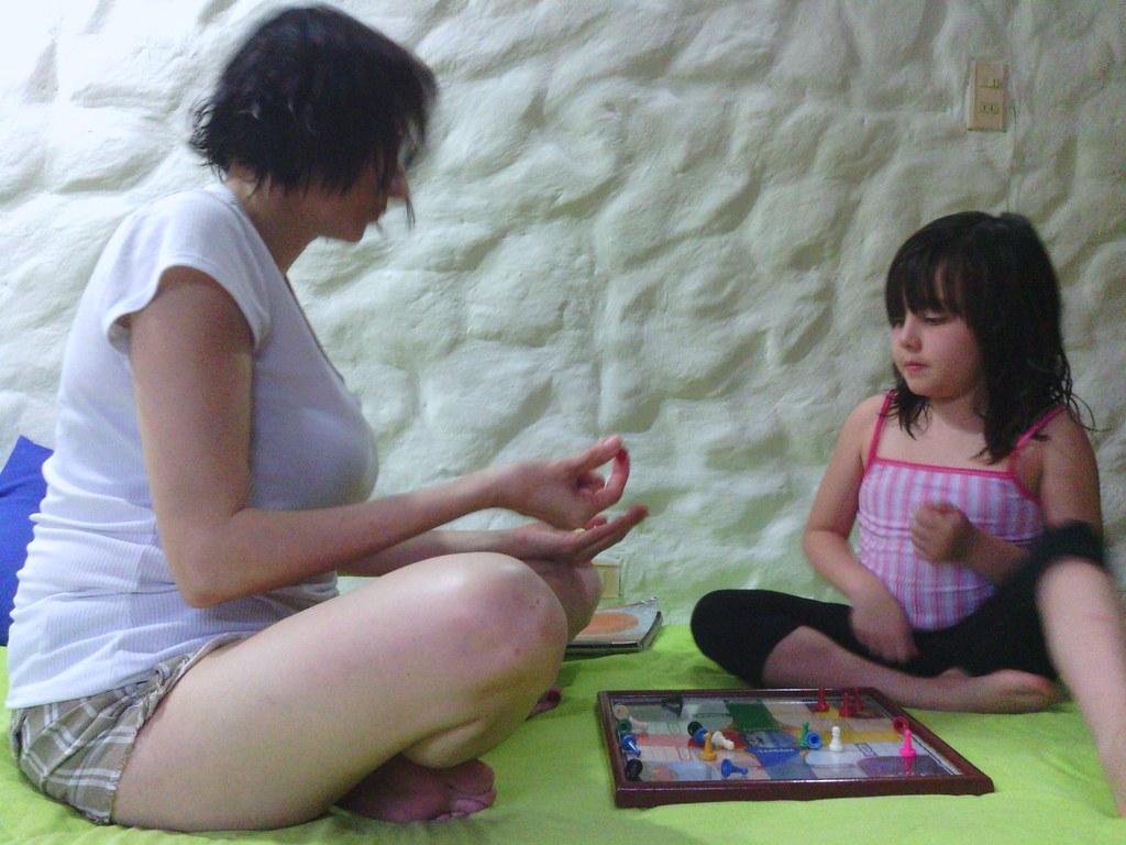 Dia De Sol Con Mami Jugando Parques Lina Sofia Montoya Blanco