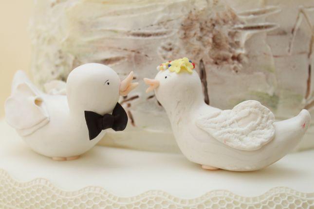 V Vogelchen Brautpaar Vintage Www Suess Und Salzig De Flickr