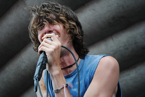 Derek Sanders of Mayday Parade | by Tori Mier
