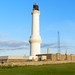 Girdle Ness Lighthouse, Aberdeen Harbour, July 2012