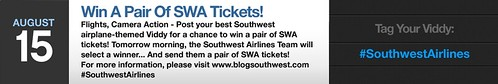 Win A Pair of SWA Tickets | by Southwest Airlines