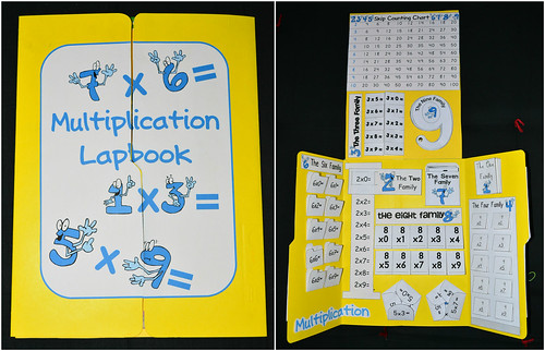 Multiplication Lapbook