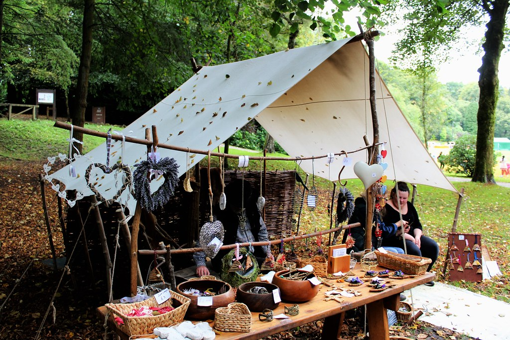 Craft Stall at Dean Castle Park, Scotland.