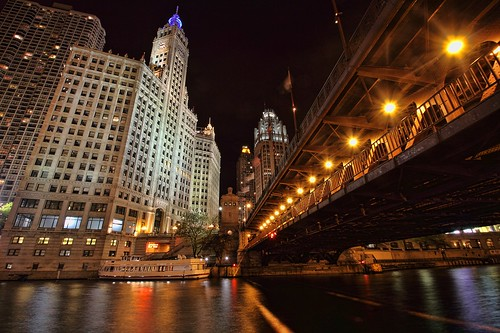 Chicago River At Michigan Ave | by Tony Lau Photographic Art