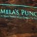 Pamela's Punch logo at L2 Lounge taken by Jason Kampf