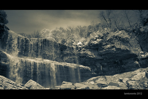 Infra Red Water falls | by Iamtoronto