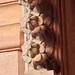 Detail, Royal Cenotaphs, Gaitor, Jaipur, Rajasthan.