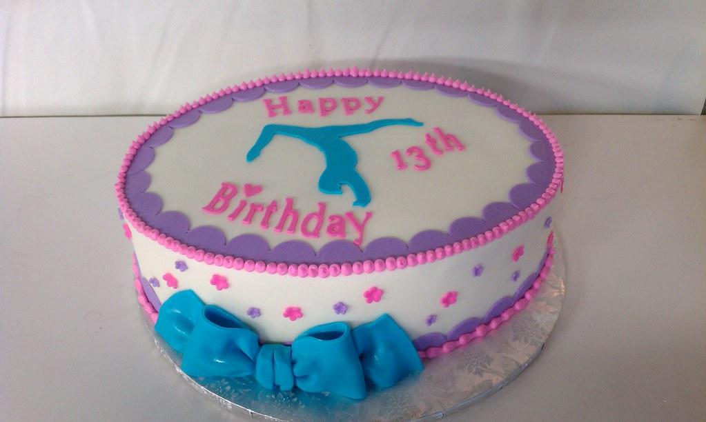 Gymnastic Birthday Cake Inspiration From Springlake Cakes Flickr