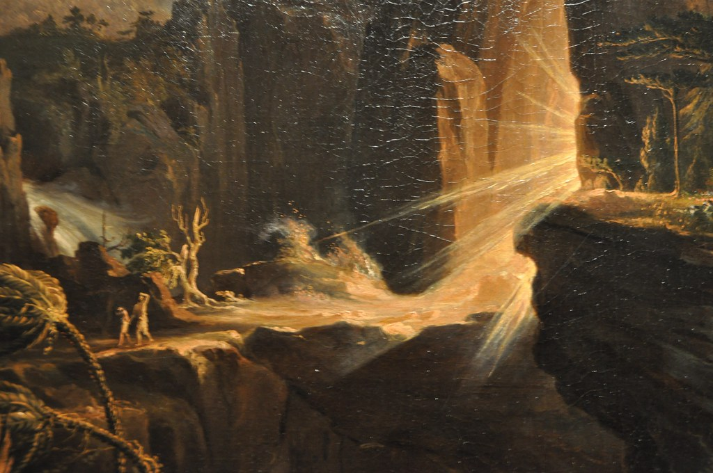 Detail Of Thomas Cole Expulsion From The Garden Of Eden Flickr