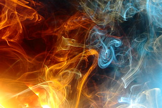 Day 164: Light painting smoke. (164/366) | by Samuel Santiago