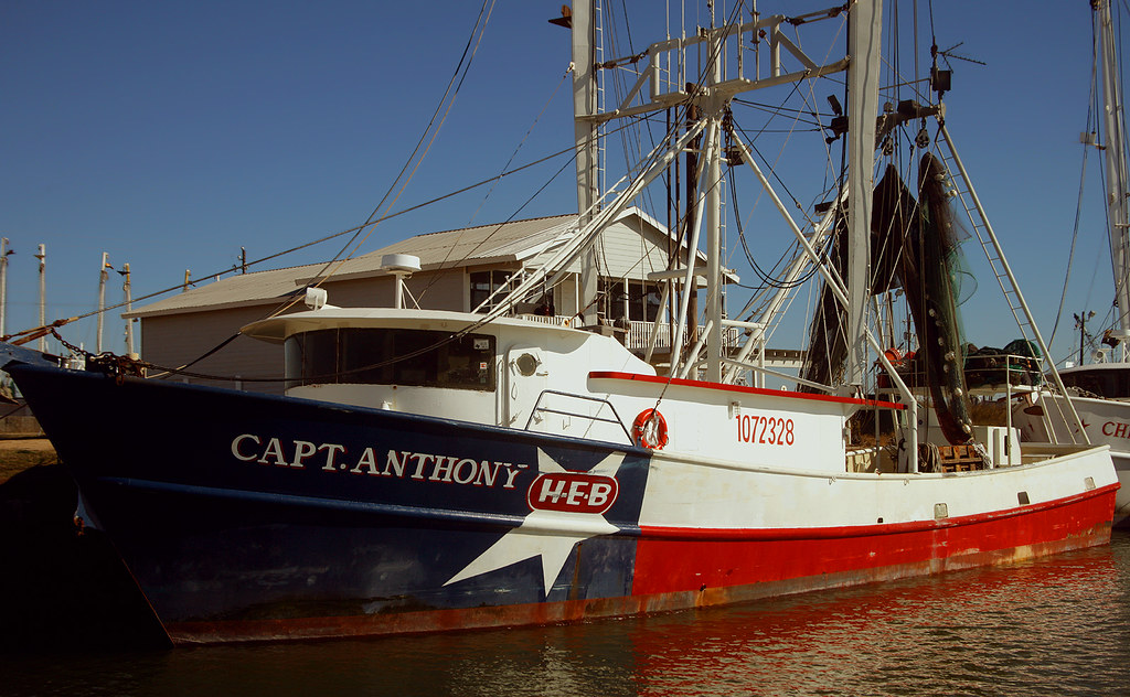 Lone star shrimp boat docked at palacios texas the capt for Port lavaca fishing report