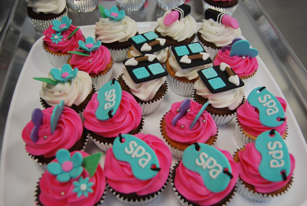Spa Cupcakes Not Just Cakes By Patty Flickr