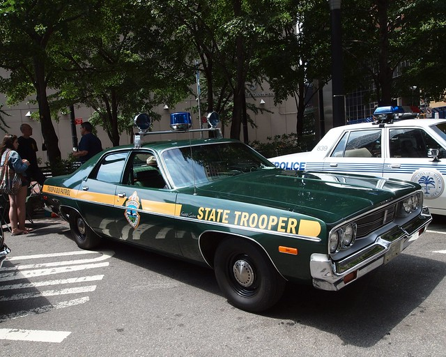1974 plymouth vermont state police car flickr photo for Vermont motor vehicle laws