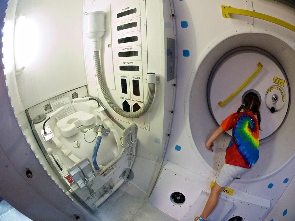 youtube space shuttle toilet - photo #14