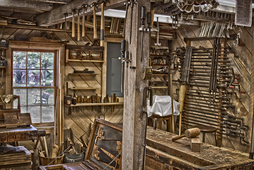 Woodshop | Located at the Furnace Town Living Heritage Museu… | Flickr