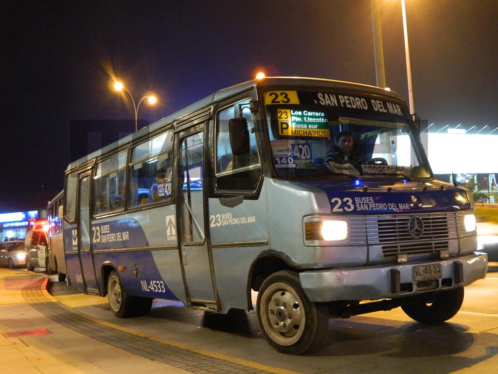 23 buses san pedro del mar metalpar pucar i mercedes for Mercedes benz san pedro